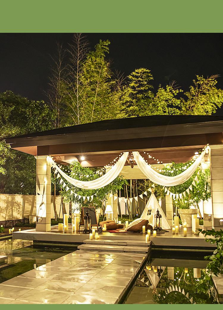 Graceful time グランピングBBQ | セントグレース大聖堂 the Garden