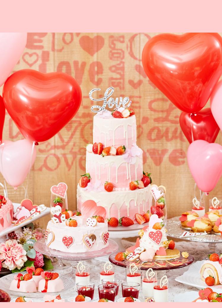 恋するイチゴのデザートビュッフェ | アートグレイス ウエディングコースト 東京ベイ
